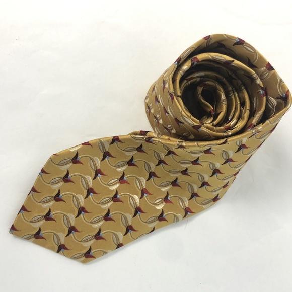e584c8e1 Ermenegildo Zegna 100% Silk Tie Floral